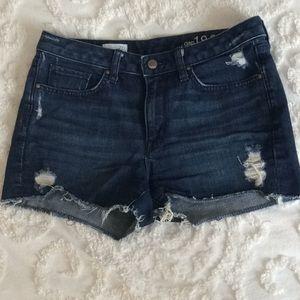 Gap cut-off shorts
